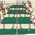 保護中: 卓球*第189話 人がいっぱい