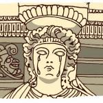 月の泉*第4話 女人像柱