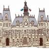 保護中: 3 パリの建造物