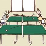 保護中: 卓球*第372話 新学期の練習日