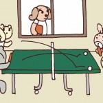 保護中: 卓球*第373話 新学期の特有現象