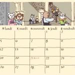 カレンダー制作3(2月3月5月6月)