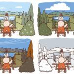 漫画教室*第44回 季節の表現