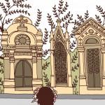 保護中: 1パリの墓地にて
