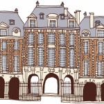 保護中: 5 パリの建3(ヴォージュ広場)