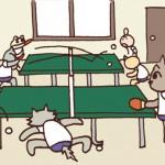 保護中: 卓球*第521話 卓球部のふつうの日