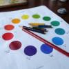保護中: パラダイス*第46回 色鉛筆5本で12色