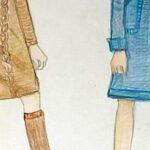 保護中: 課題添削56*洋服の素材感