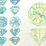 保護中: 課題添削61*宝石のパターン制作